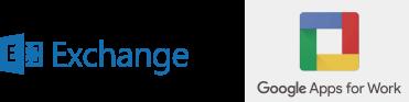 Sistemas de correo electrónico Microsoft Exchange o Google